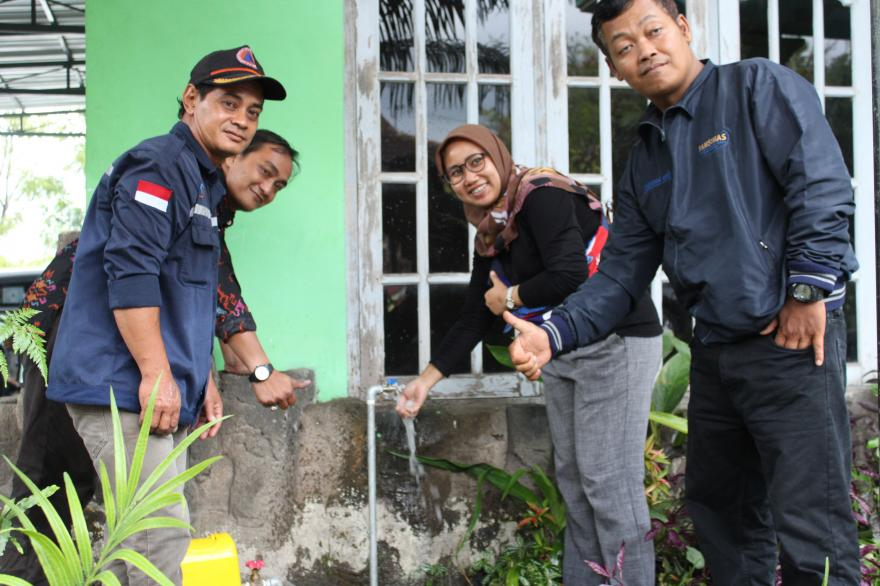 Image : KKM Randu Tirta, uji fungsi sarana dan prasarana Pamsimas